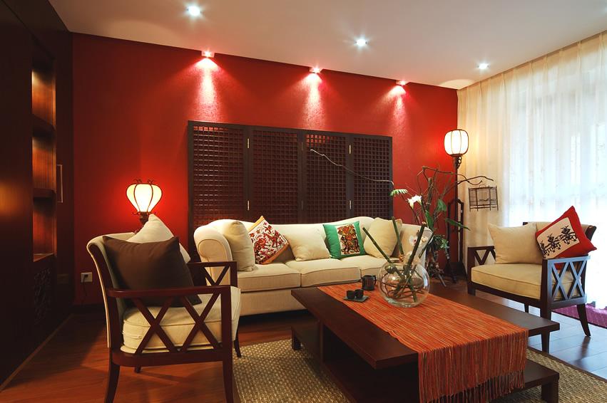 В китайском дизайне интерьера нельзя встретить многочисленных предметов мебели и аксессуаров