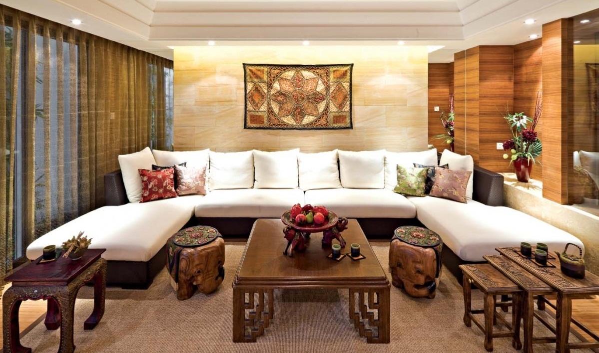 Всегда беспроигрышно сочетается вместе мебель в епропейском и китайском стиле