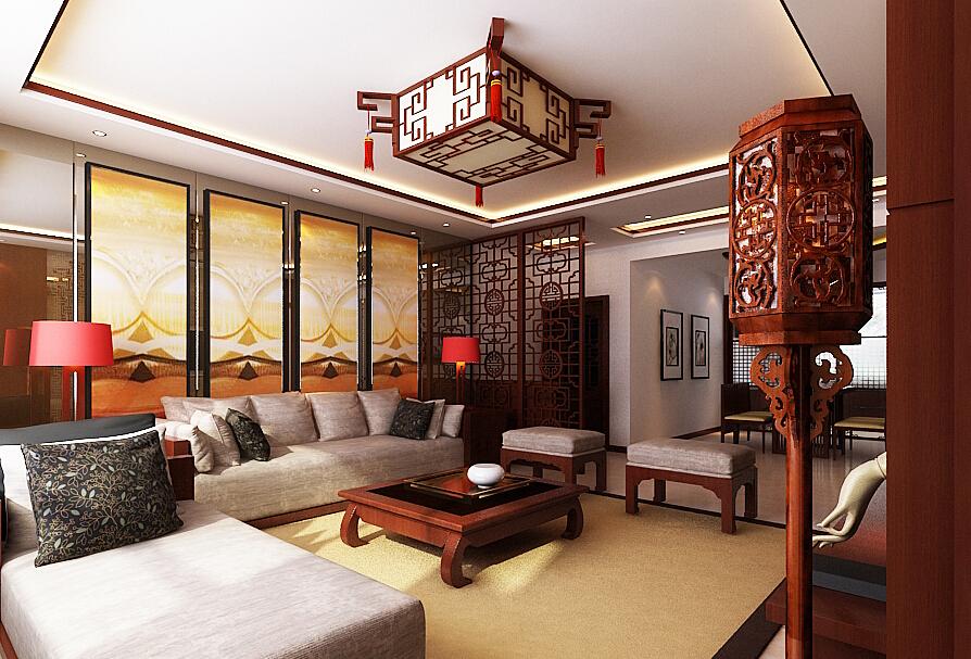 Мебельв китайском стиле, как правило, очень невысокая