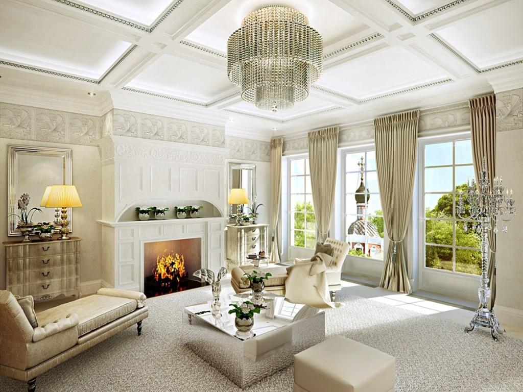 Комната гостиной мечты