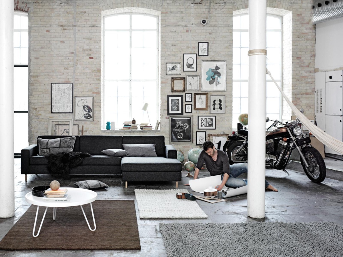 Лофт - одно из наиболее популярных направлений в дизайне интерьеров, особенно среди молодых и свободолюбивых
