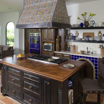 Фурнитура средиземноморского стиля кухни