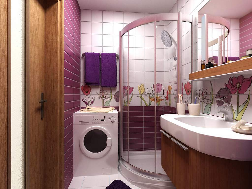 Установка душевой увеличит полезную площадь ванной комнаты