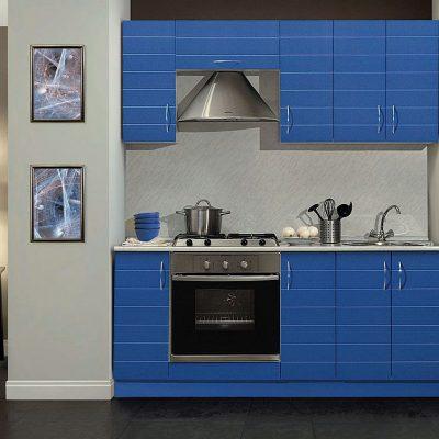 Классика синего цвета кухни