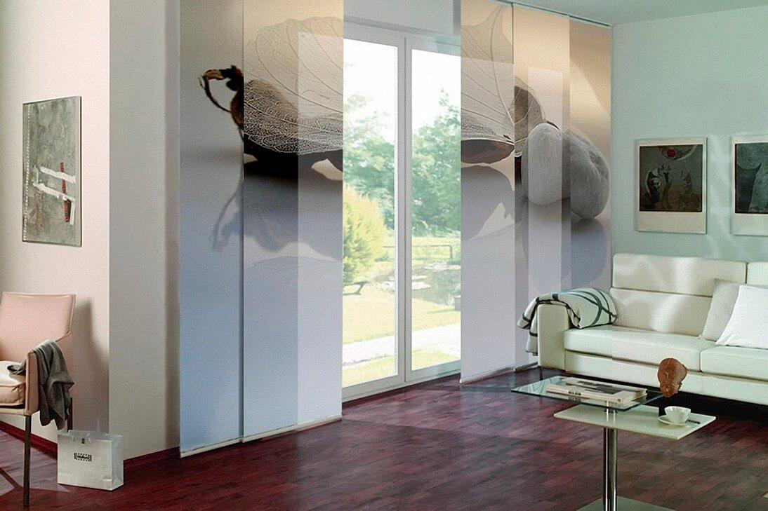 Японского типа полупрозрачные шторы блэкаут