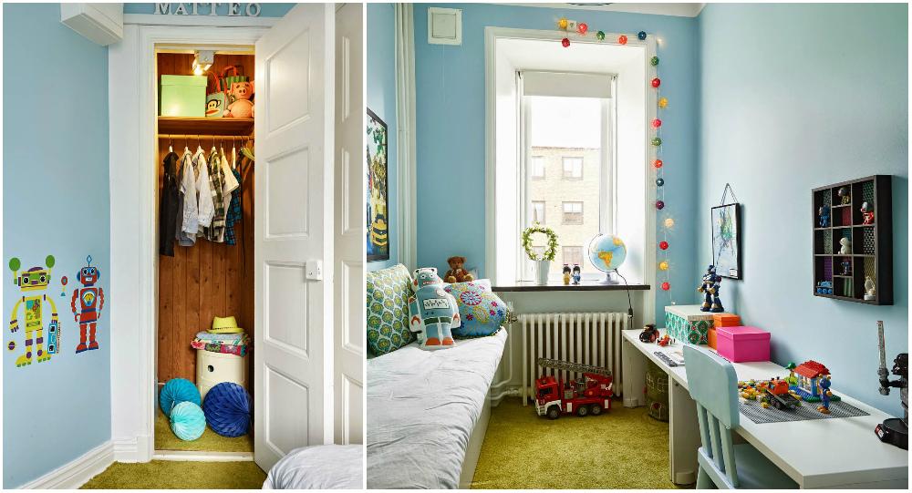 На пол в детской стоит положить ковер, он может быть как нейтрального цвета, так и ярких расцветок