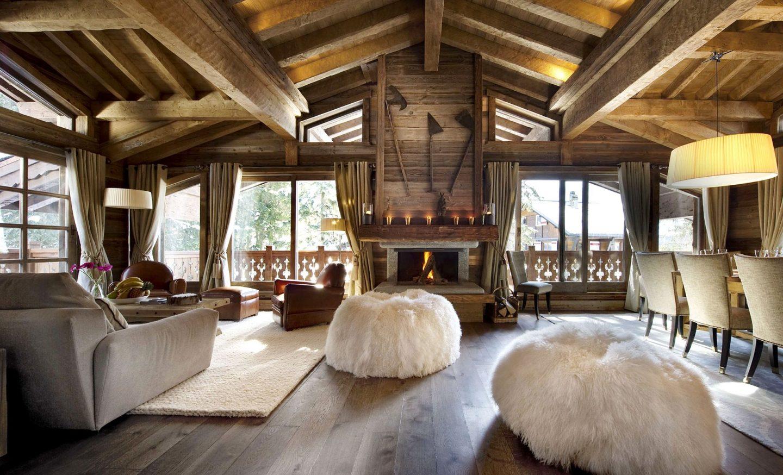 Как создать уютную деревенскую атмосферу гостиной в стиле кантри