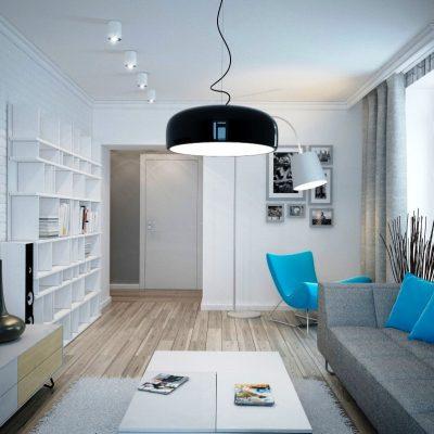 Современная комната гостиной