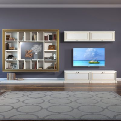 Мебель для широкой гостиной