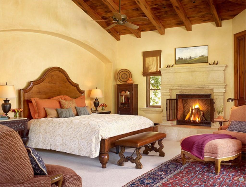 Средиземноморская спальня по-итальянски