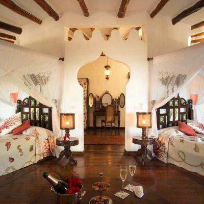 Спальня для двух принцесс в арабском стиле