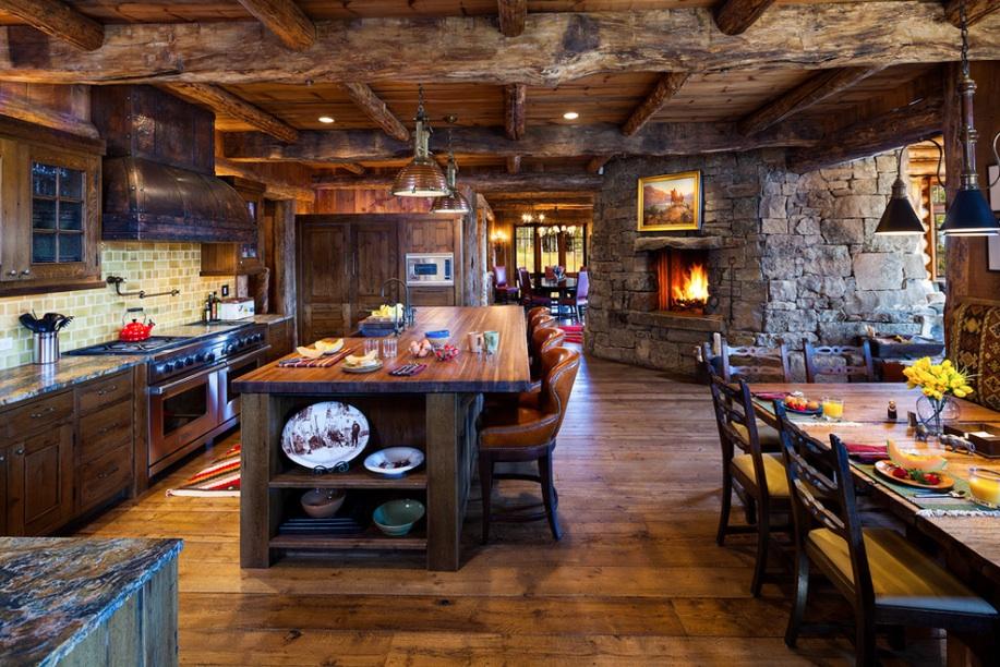 Секреты декорирования кухни в деревенском стиле