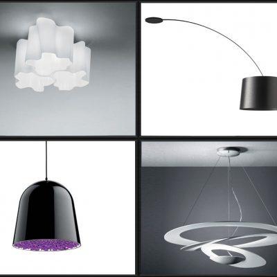 Необычные светильники в стиле модерн