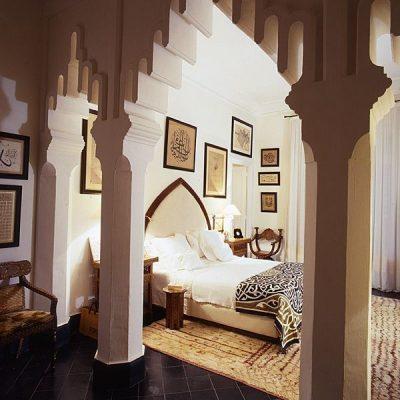 Спальня в тунисском стиле