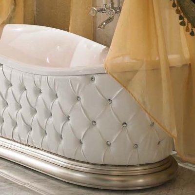 Статусная ванна в стиле ретро