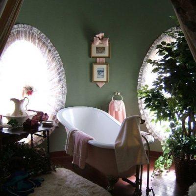 Оформление ванной в викторианском стиле