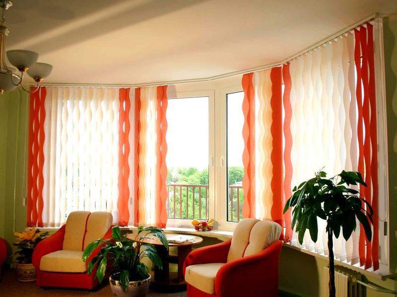 Как подобрать вертикальные жалюзи на пластиковые окна: фото и идеи