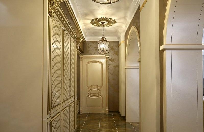 приносят дизайн длинного коридора в классическом стиле фото запретов