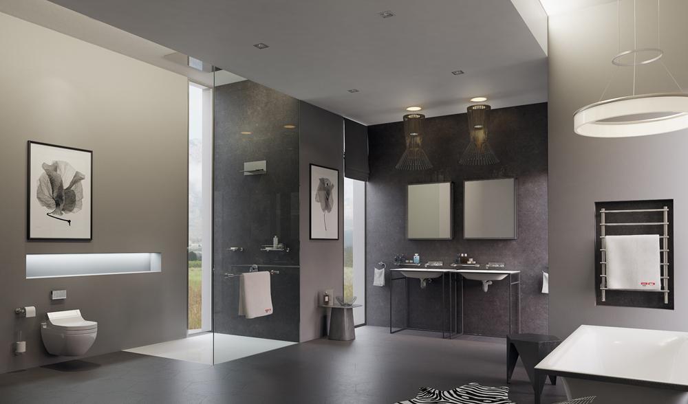 Огромная комната ванная
