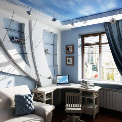 Кабинет у окна