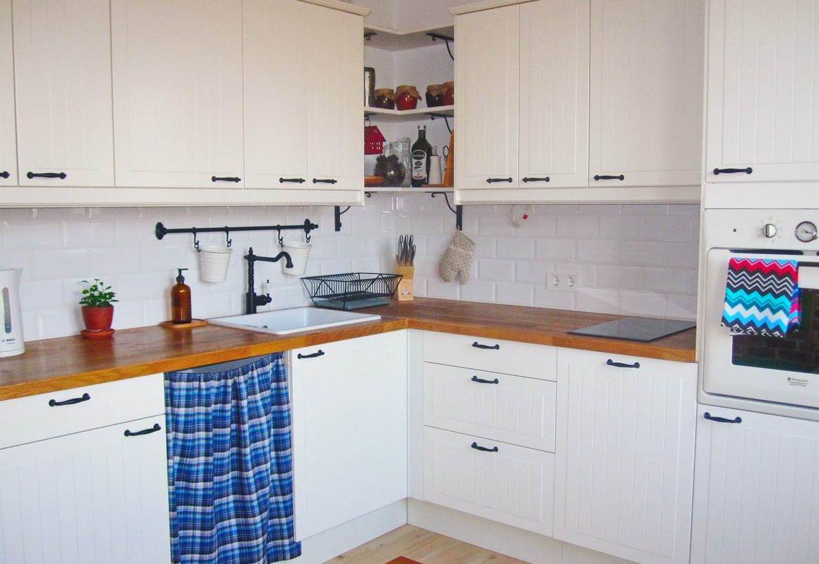 Пример угловой кухни