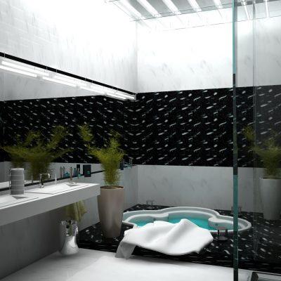 Оформление плиткой ванной