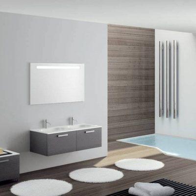 Оформление ванной светильниками