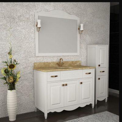 Чисто белая мебель