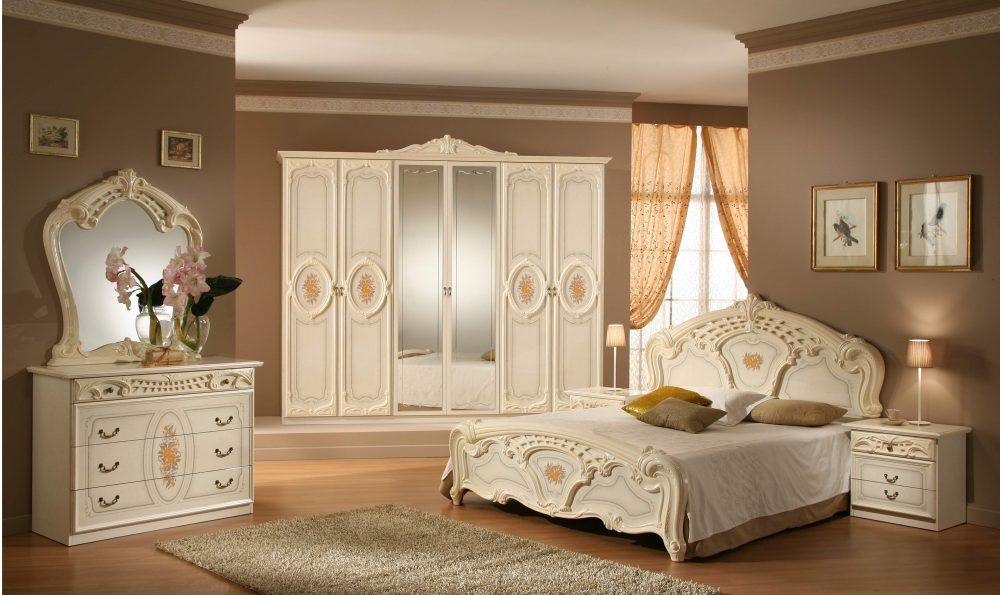 Классический современный гарнитур спальни