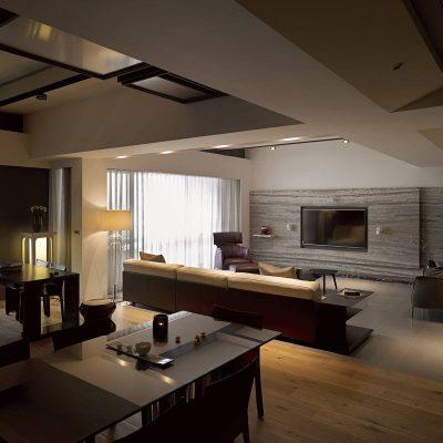 Пример гостиной комнаты на фото