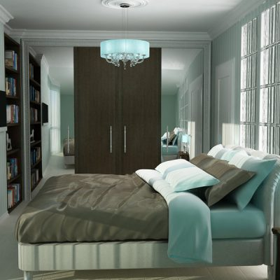 Спальня для небольшой комнаты