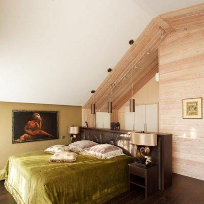 Использование большого помещения для спальни