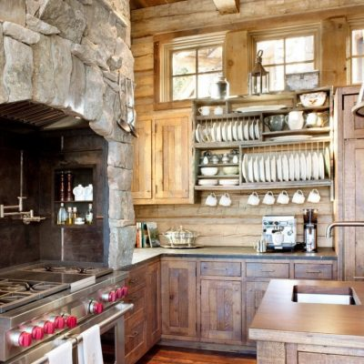 Печка на кухне