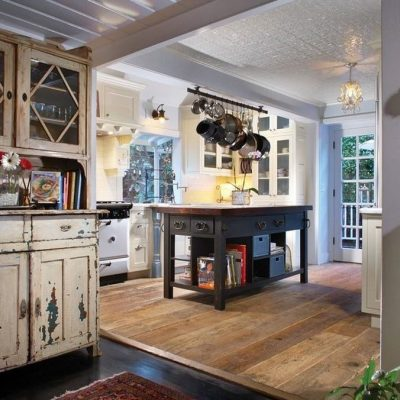 Проем в интерьере кухни