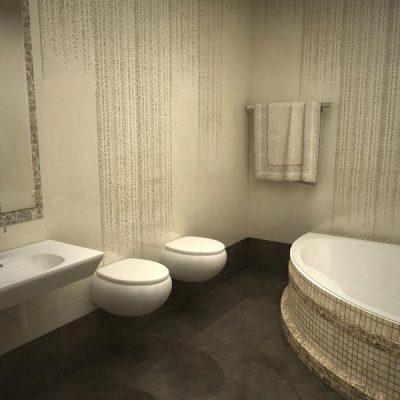 Угловая ванная