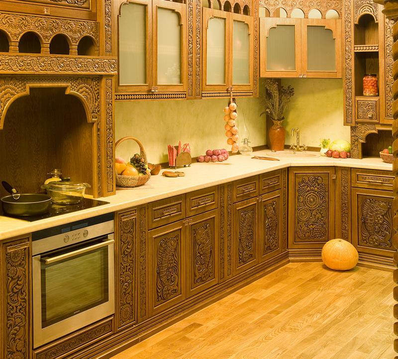 русская угловая кухня