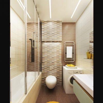 Модная комната ванной на фото примере