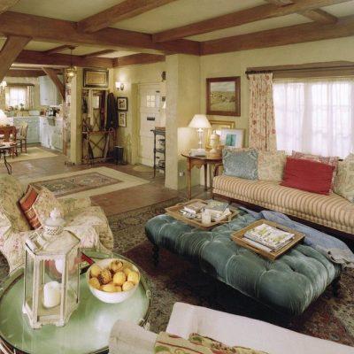 Гостиная в домах Англии