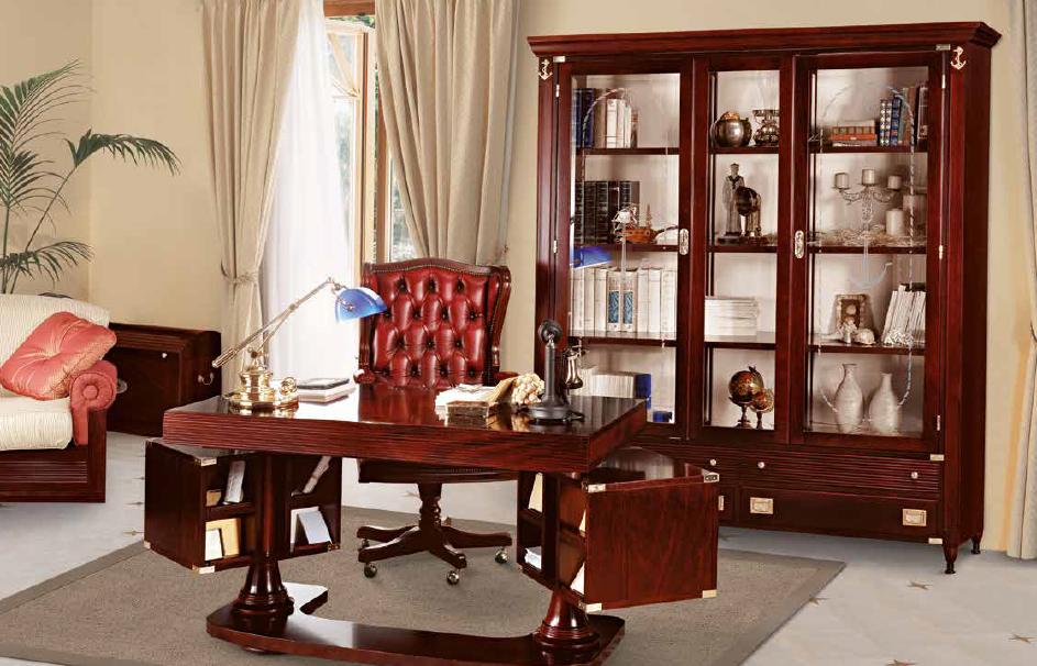 Кабинет с мебелью