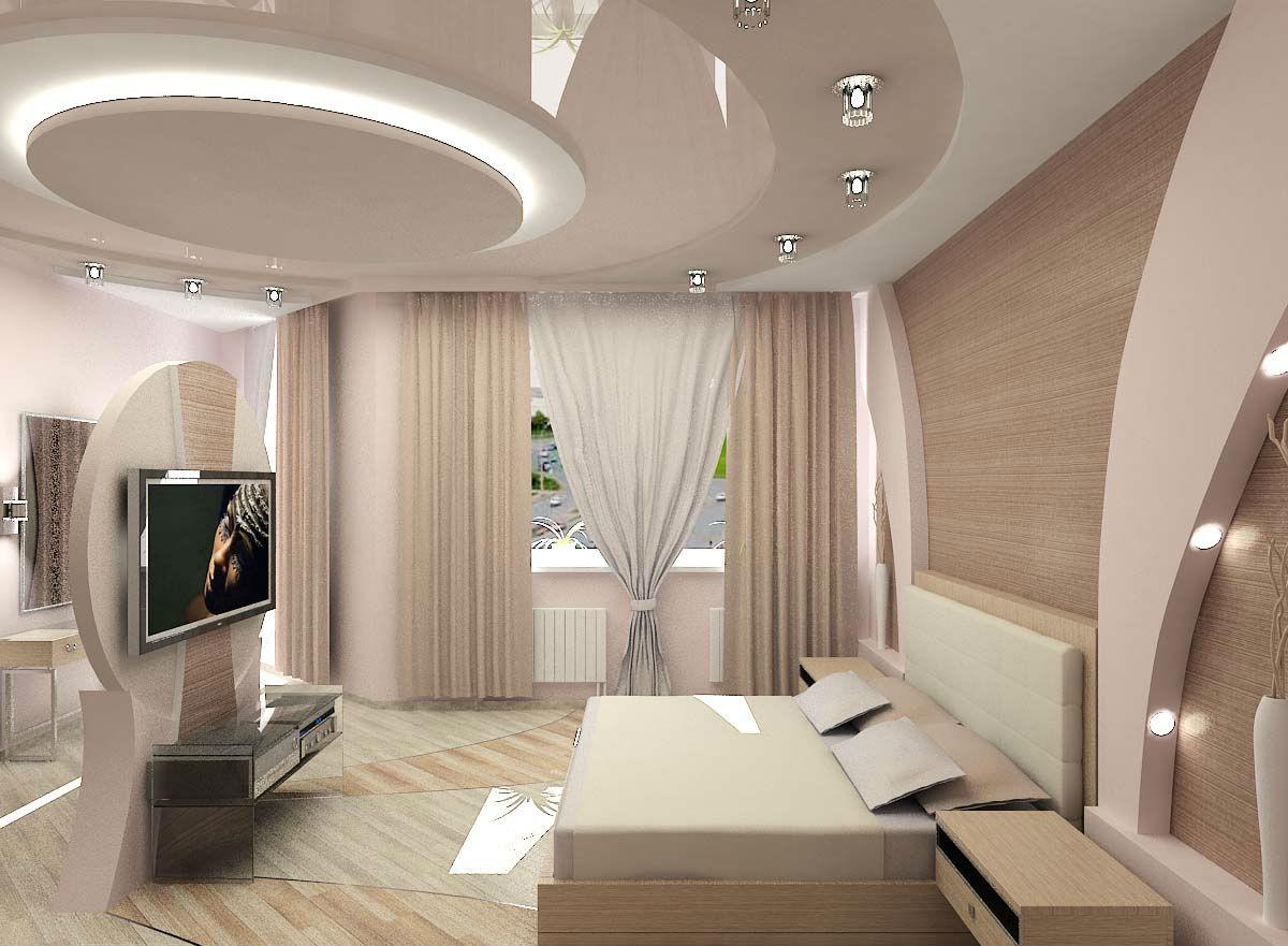 например, стоит потолок в гостиной из гипсокартона дизайн фото своими