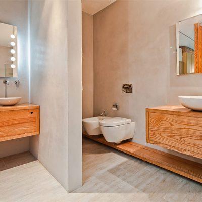 Отделка ванной комнаты в скандинавском стиле