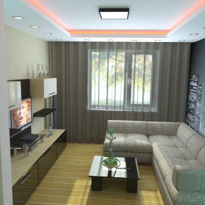 Расположение мебели в комнате