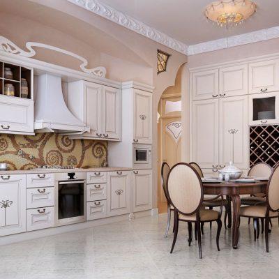 Огромная кухня
