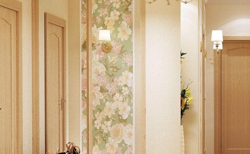Цветочное офОрмление стен