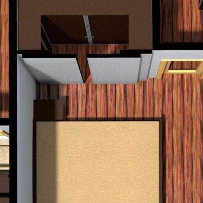 Дизайнерский план для квартиры