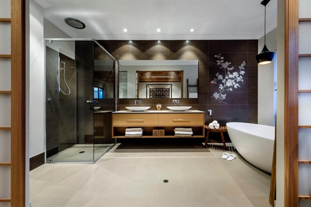 огромная ванная