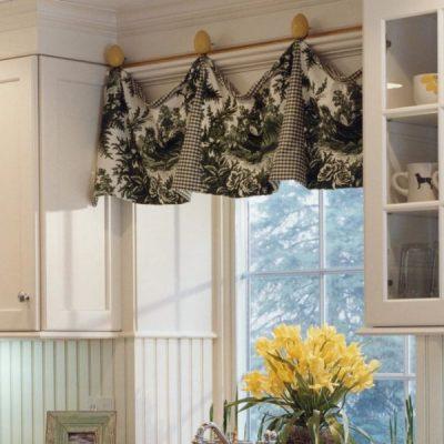 Подвешенные шторы