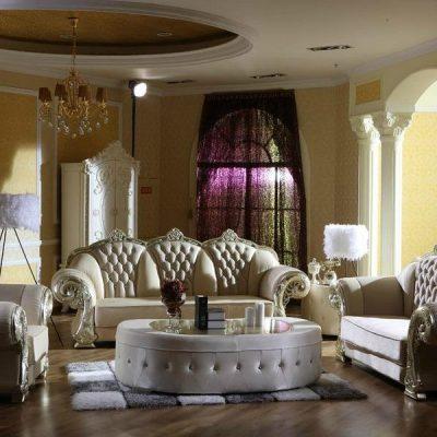 Гостиная в королевском стиле