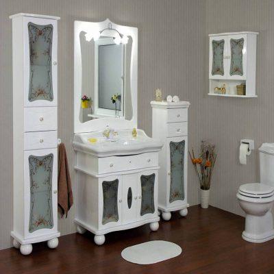 Ламинат ванной