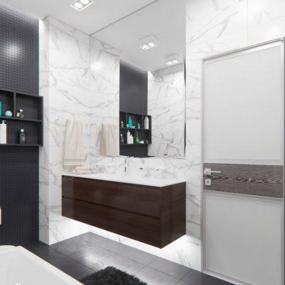 Мебель в ванной комнате на заказ
